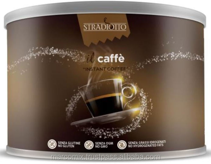 100g Tin Can 100% Arabica Italian Instant Coffee