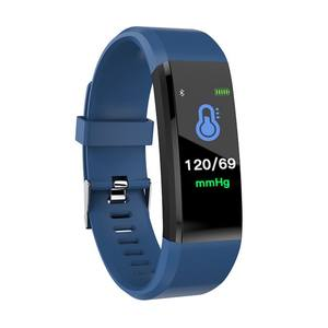 Hot selling smartwatch 2019 fitness tracker ID115 HR plus smart bracelet support Yoho waterproof IP67 health monitor smart band