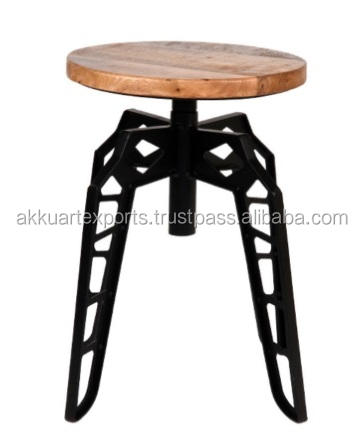 BAR STOOL AKS-3001, HÖHE ADJUST HIGH END STOOL, KÜCHEN ZÄHLER HOCKER