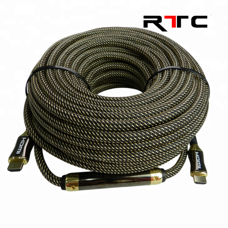 50 meter HDMI cable with IC booster amplifier 50m support 4K/30Hz YUV4:4:4 or 4K/60Hz YUV4:2:0
