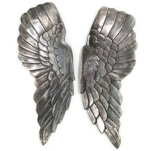 HOME DECOR WALL ART / METAL WALL DECOR WINGS / WALL STICKER