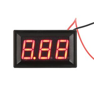 2.5-30 V (OF 4.5-30 V) DC mini Auto Motor Rode LED Digitale Voltmeter Volt Voltage Panel Meter