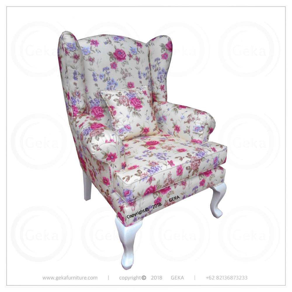 wing chair single sofa for living room