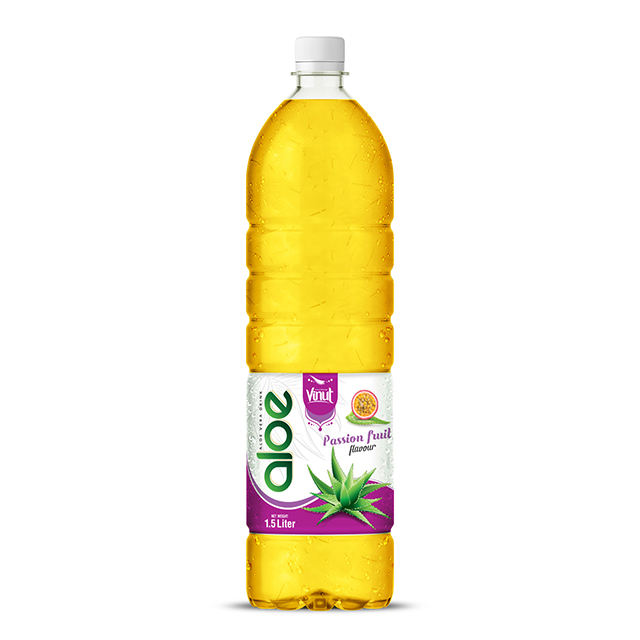 1.5L VINUT Bottled aloe vera extract price Passion flavour No Preservatives Boost The Immune System Wholesale