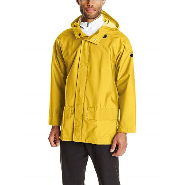 Workwear Men Durable Waterproof Hooded Jackets/ Cheap Hi Vis Cotton Workwear Jackets With Reflective Tape Wholesale Jackets