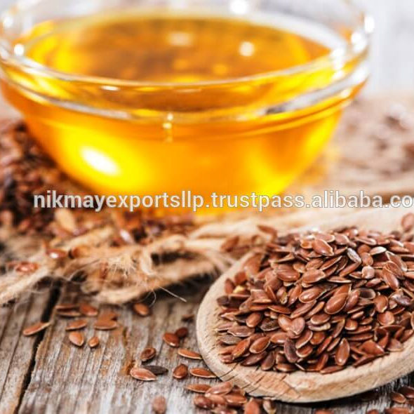 LINSEED / FLAX SEED OIL ORIGIN INDIA FROM NIK-MAY EXPORTS LLP