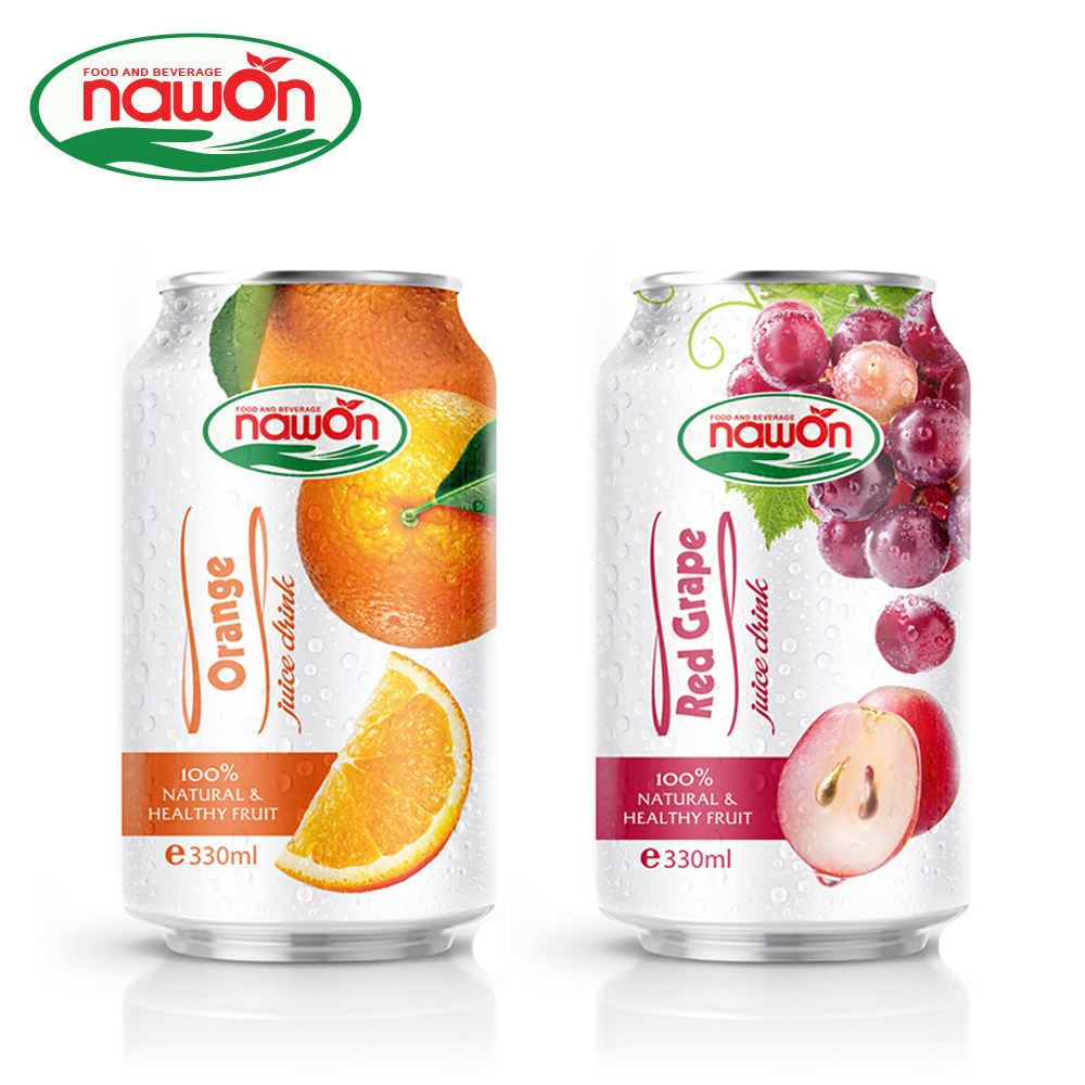 330ml NAWON Canned Sugar Free Original Mango Juice Concentrate Price Helps Prevent Anemia Factories