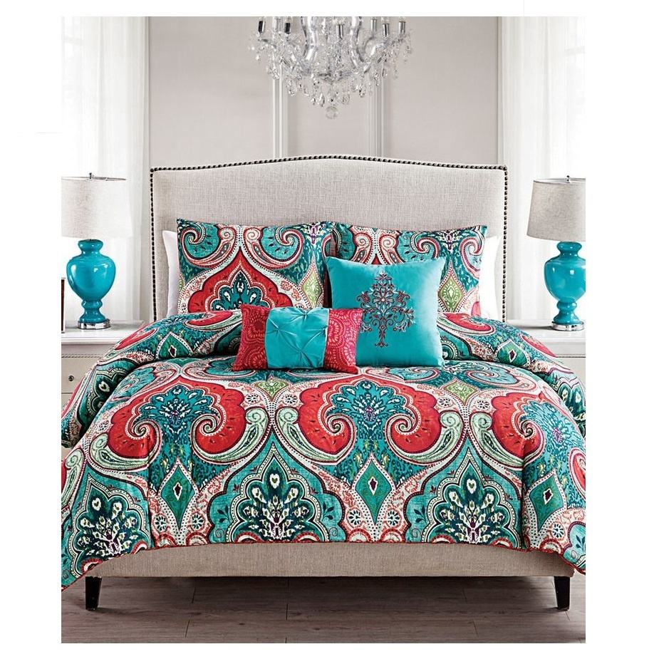 Newest 17 High Quality Bedding Sets 100% Cotton New Style Printed Home Linen Bed Sheets