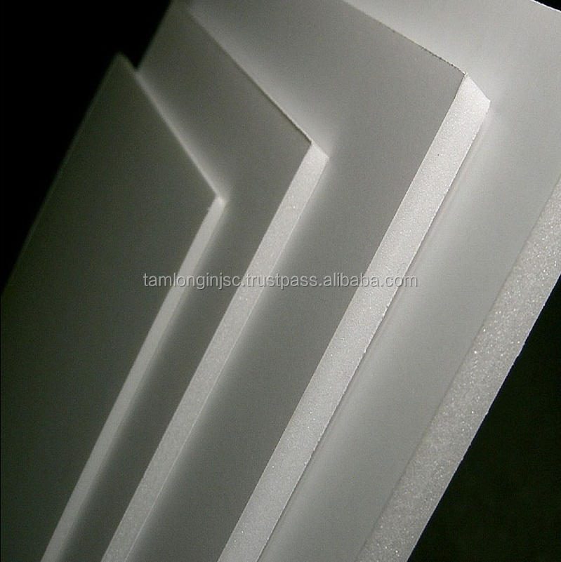 5mm pvc foam board manufacturer replace wood for advertising and building material