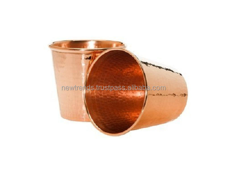 Pure Handcrafted Copper Tumbler 12 ounce