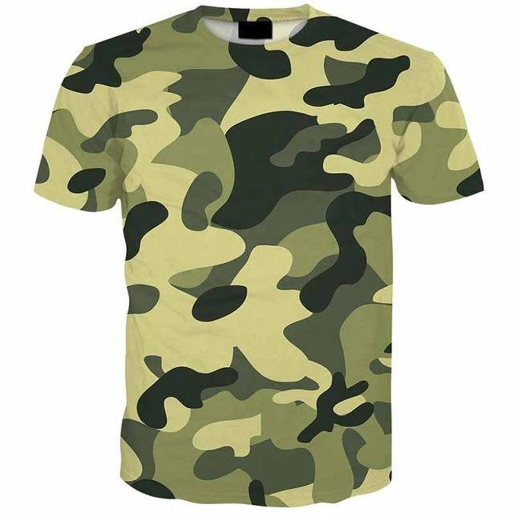 high quality t shirt long line High Support Design your own Camouflage TShirt Personalized Cheap Competitive Price men t shirt