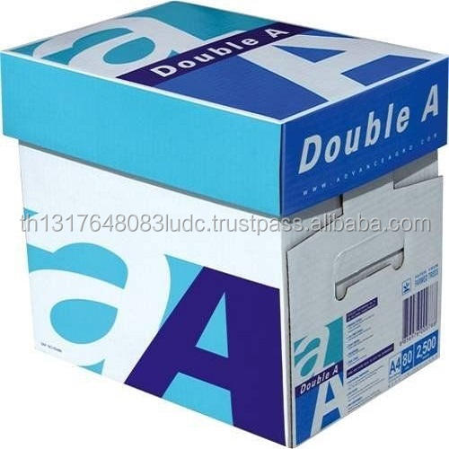 A4 Paper Double A Price Double A A4 size copy copier paper 80 gsm from Thailand