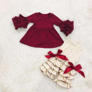 Hot baby apparel toddler girl outfit cotton children clothes clothing sets