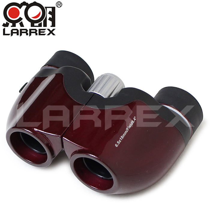 Factory Directly Larrex 6.5X18 Vision Cute Mini Prism Binoculars At Wholesale Price