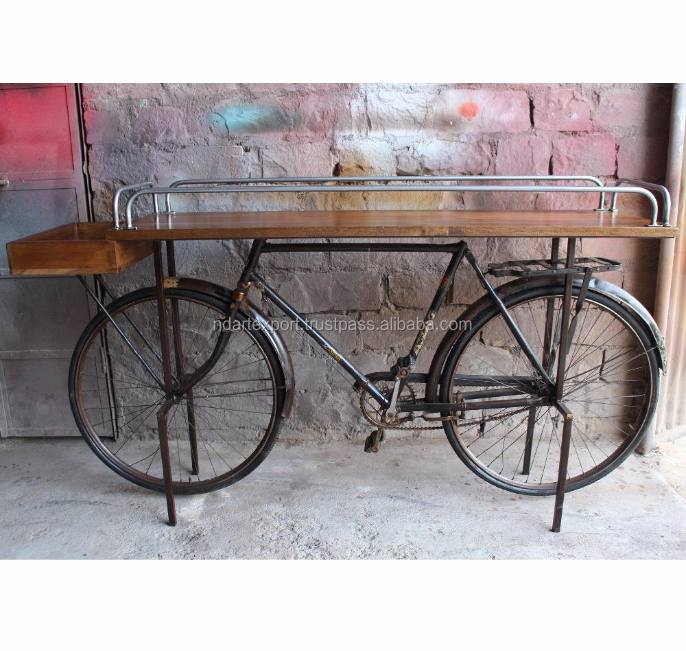 Vintage antiguo viejo Ciclo de madera Retro Cafe Bar muebles