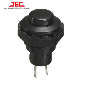 JEC Taiwan Square Round Push Button Switch 2 pin on-off small mini plastic momentary push button switch