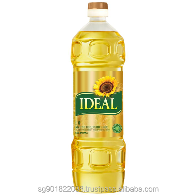 Organic Refined Sunflower Cooking Oil in Plastic Bottle or Bulk Packaging