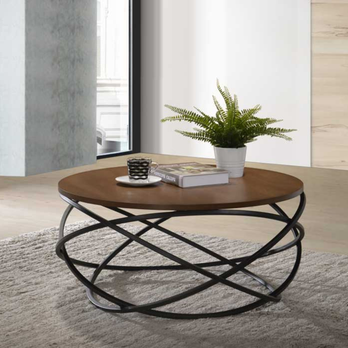 Living Room Furniture R800 Coffee Table with Metal Leg