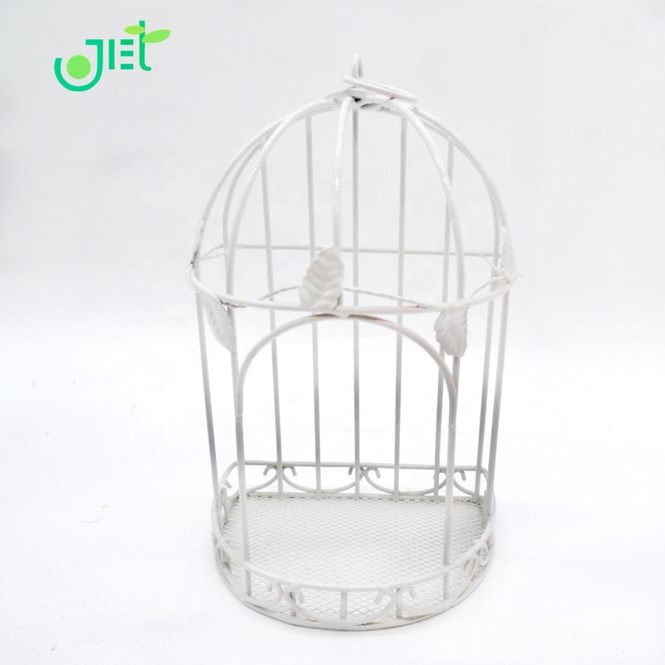 Iron wire Birdcage Plant Stand Holder