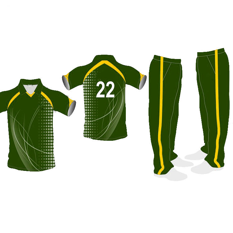 Professional Personalizado sublimada Cricket <span class=keywords><strong>uniforme</strong></span>