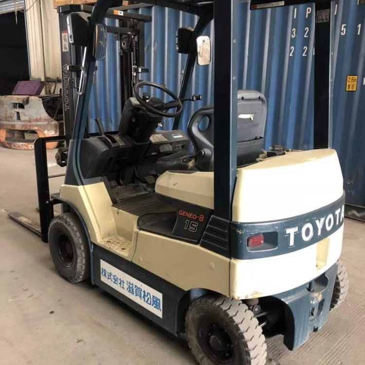 high quality used electric forklift toyota 1.5ton powered forklift for hot sale