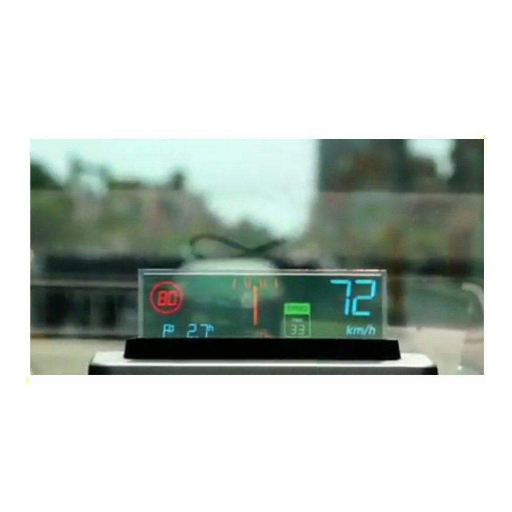 transparent flexible oled 4.1 '' inch transparent oled I2C car display screen