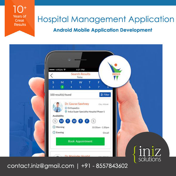 Online Hospital Management Mobile Application Design | Best Mobile App Development Services Company in India | UK | USA | Canada