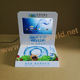 LCD video advertising player counter pop acrylic display