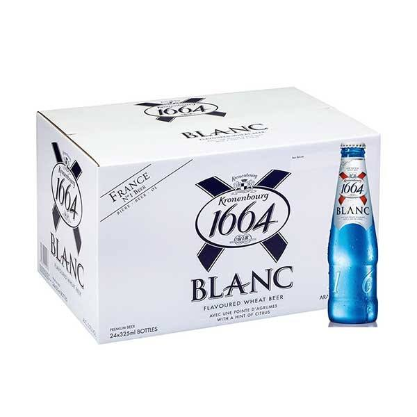 French Origin 맥주 Kronenbourg 1664 Blanc 맥주