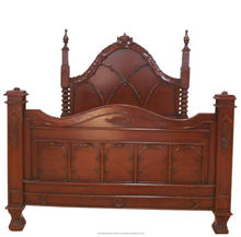 Classic Furniture Empire Bed - Antique Reproduction Furniture Mahogany Indonesia