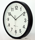 Clock Cheap Clock 10 /12 Inch Round Custom Cheap Plastic Printed Simple Wall Clock For Promotion