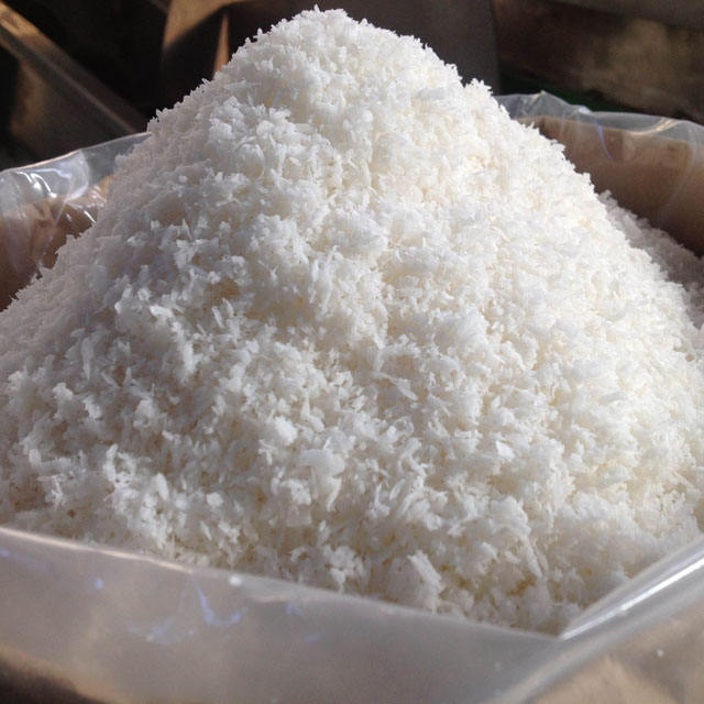 DESICCATED COCONUT HIGH FAT, LOW FAT, MEDIUM GRADE