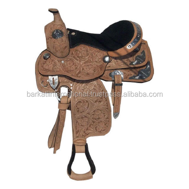 Western Saddles Silver Fittings