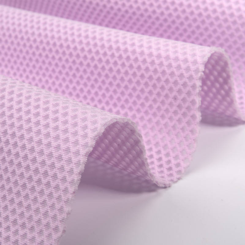 soft cooling 100% polyester spacer mesh fabric for chair cushion mattress pillow and children pillow