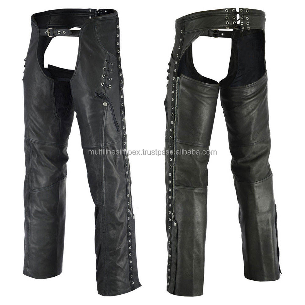 Leather protective half chap / Lag protective chap/cow skin chap