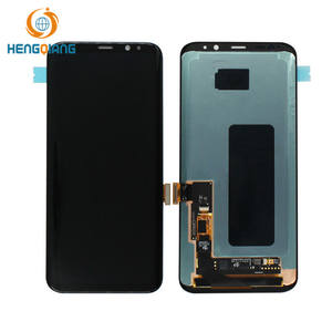 Para Samsung Galaxy S8 S8 + Tela LCD, para samsung Galaxy S8 S8 plus display + Quadro
