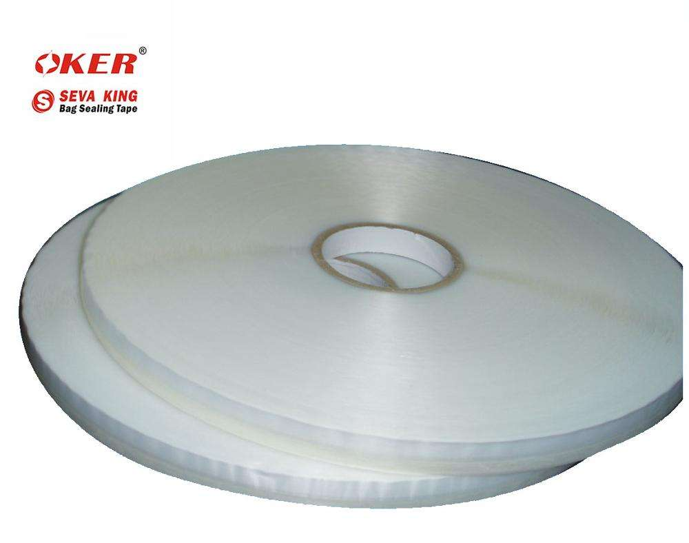 Original OKER Factory SEVE KING SEALING KING 11mm high quality braned double sided tape opp bag sealing tape packing tape