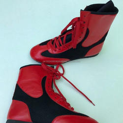 SPEED-FLEX MID BOXING SHOES - men boxing shoes - leather boxing shoes