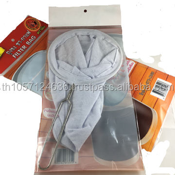 Best Filter for Tea-Coffee natural Cotton Cloth Strainer Made by Hand (big size)