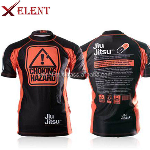 Mens rash guards 2018 dos homens personalizado sublimada mma rash guard rash guard para venda