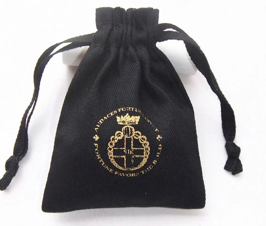 Velvet Pouch Coin Bag Promotional Bank Bag