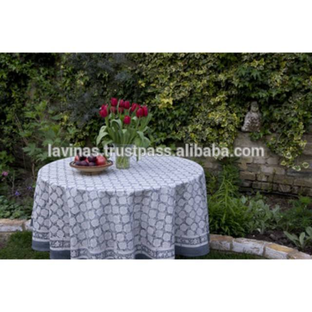 Decorative Round Table cloth Indian Round Table Cover