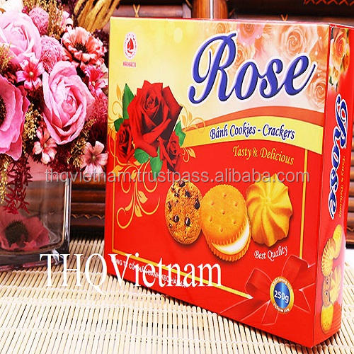 [THQ Việt Nam] ROSE COOKIES & CRACKER 250GR