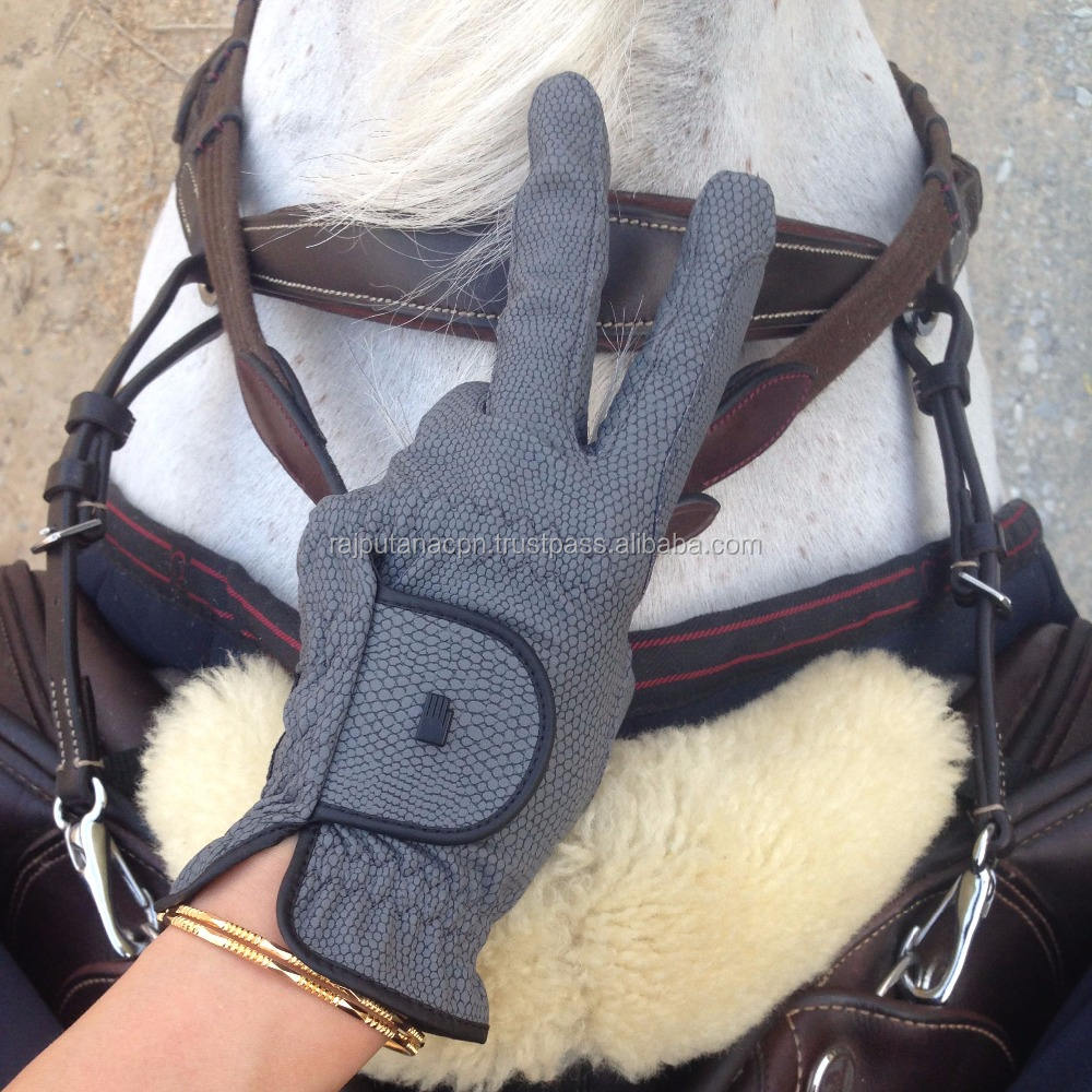 Horse Riding Gloves Custom Leather