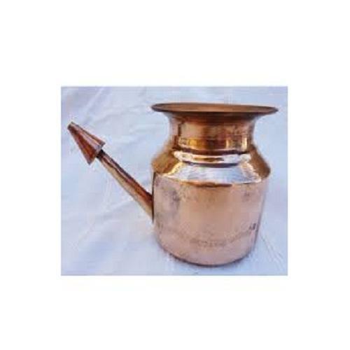 Traditionnelle Pur Lota De Cuivre Pri/ère Temple Kalash /Él/ément De Pooja Pot Hindu Potable