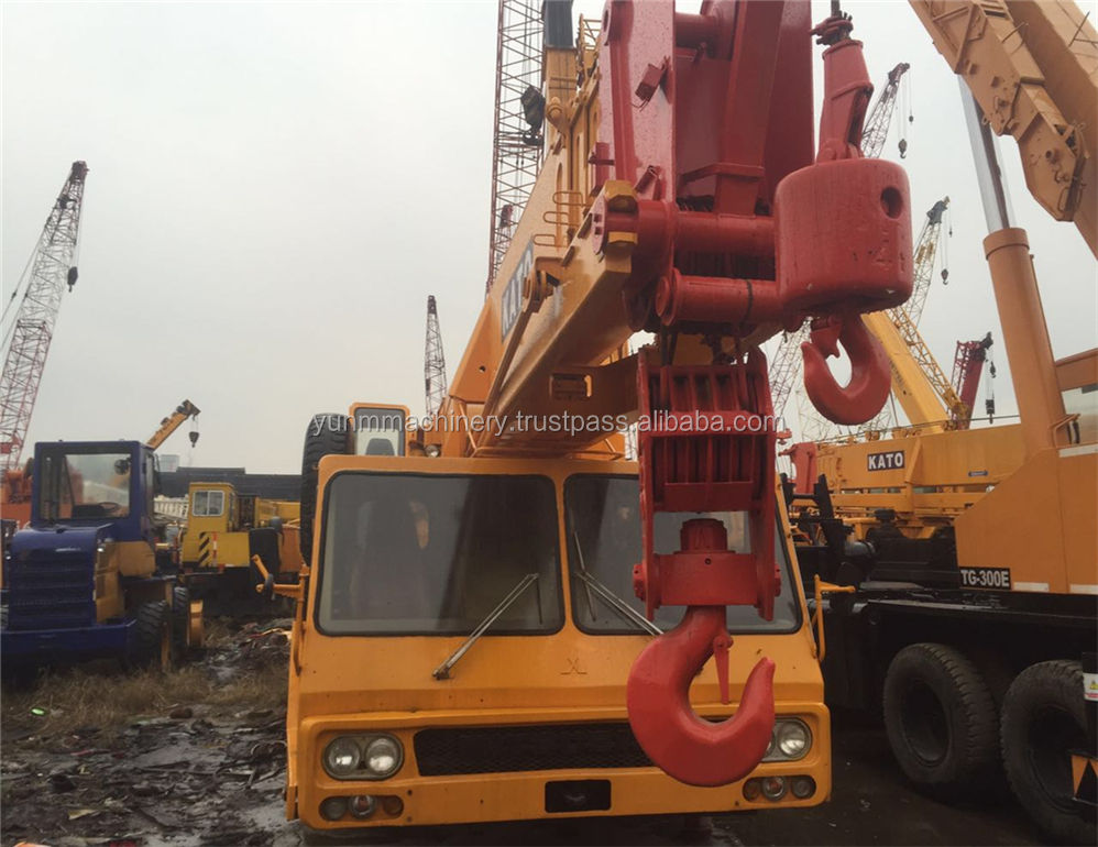 Used KATO 45ton Truck Crane,NK450E 4 Boom Japan Made Crane