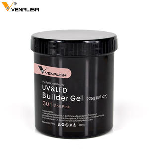 Venalisa 225G soak off camouflage builder uv gel lacquer jelly extension acrylic poly gel 25 color private labeling thin led gel