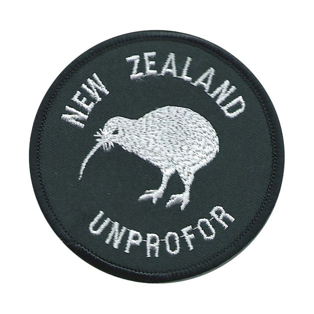 Machine embroidery badges New Zealand UNPROFOR White On Black Circle See SOLDIER Embroidered United Nations - Copy