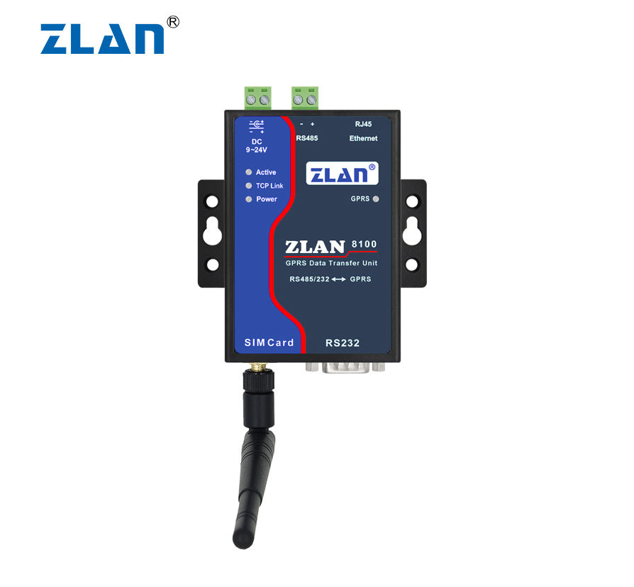 ZLAN8100 RS232 RS485 Để GSM GPRS Ethernet <span class=keywords><strong>Modem</strong></span> 2G Máy Chủ <span class=keywords><strong>Cổng</strong></span> Nối Tiếp Router