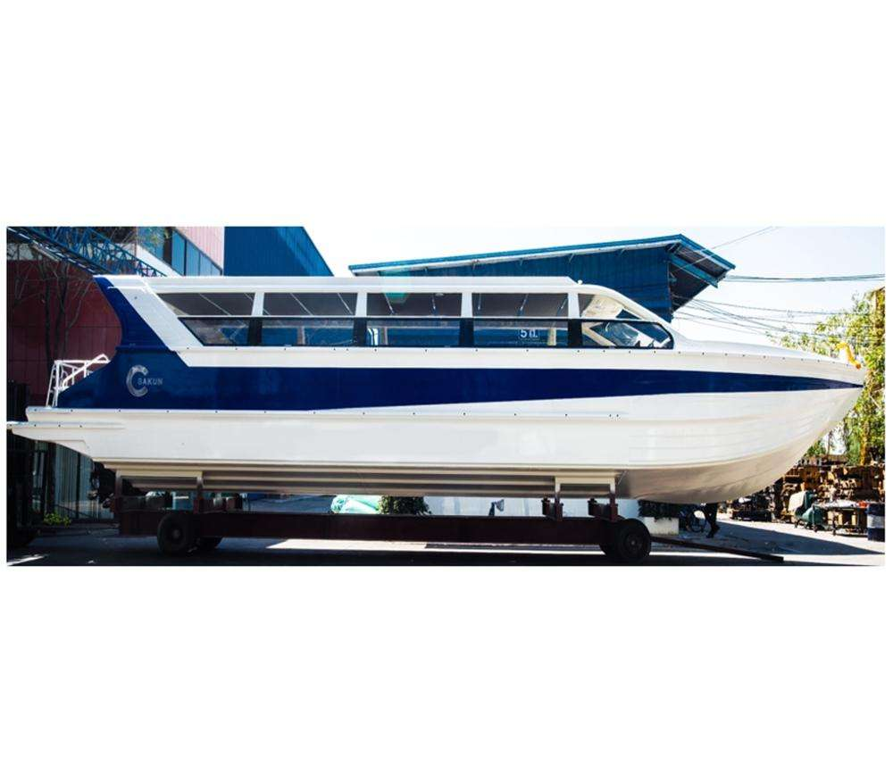 19m (64ft) New aluminum Catamaran passenger ferry boat for tourism